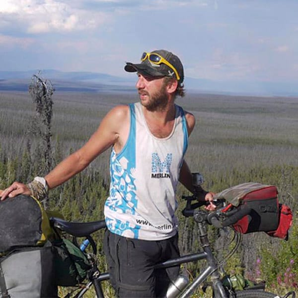 Stephen Fables, Adventure Cyclist