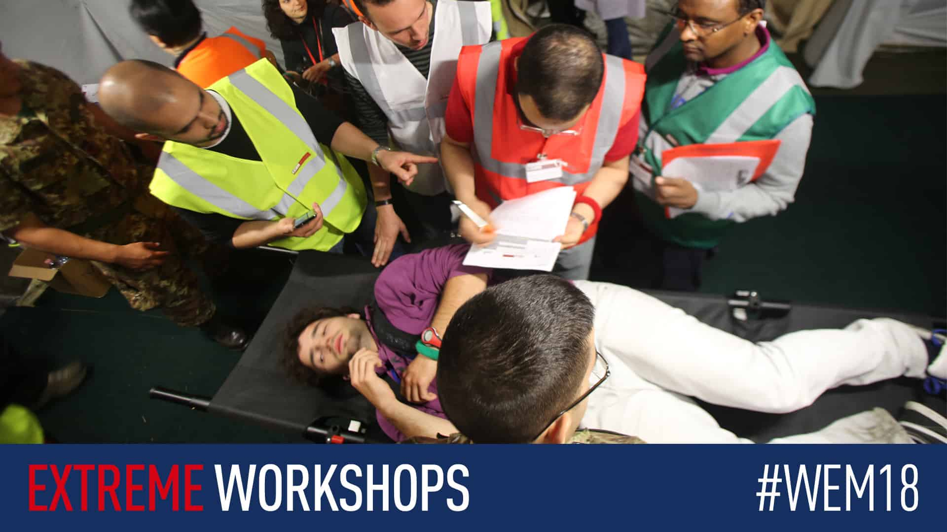 Discover and experience our wide range of interactive workshops at #WEM18